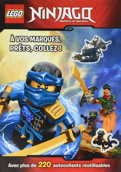 Lego Ninjago, masters of Spinjitzu : à vos marques, prêts, collez !
