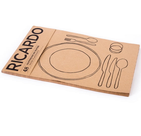 Napperons assiette et ustensiles (50)