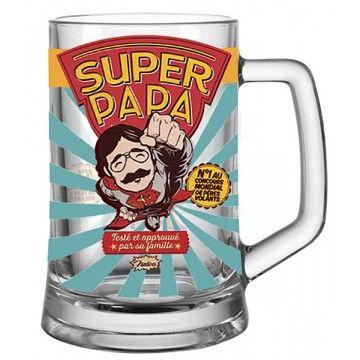 Bock à bière ''Super Papa''