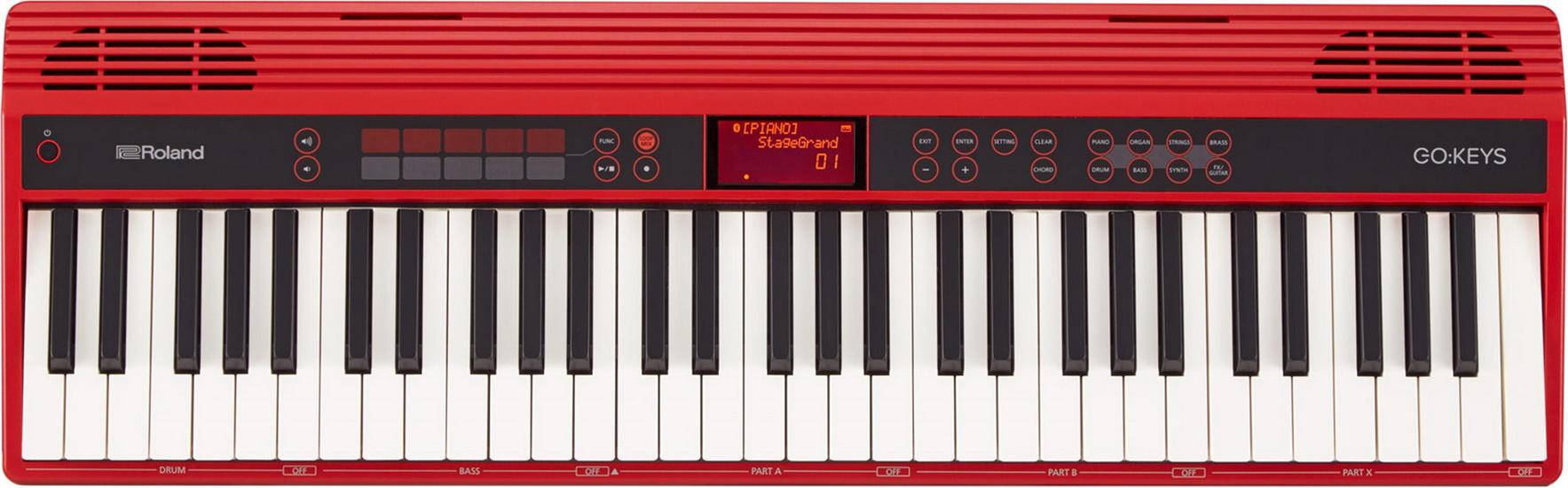 Clavier Portatif 61 Notes GO-KEYS