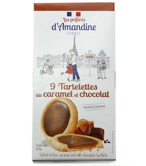 """Tartelettes """"Caramel"""" au pur beurre 125g"""