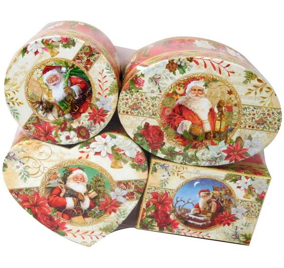 Boîte cadeau Père Noël 4AS