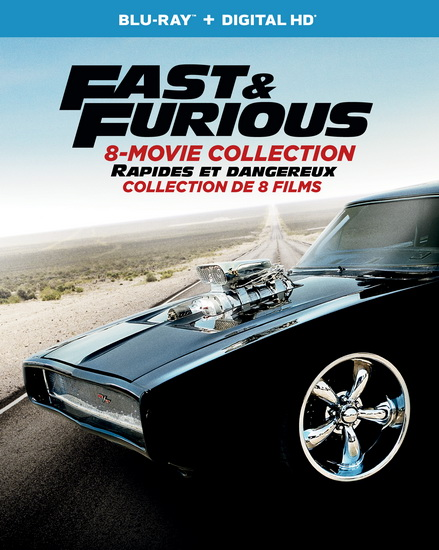 Fast & The Furious The (8 Movie Collection) (+Dhd)