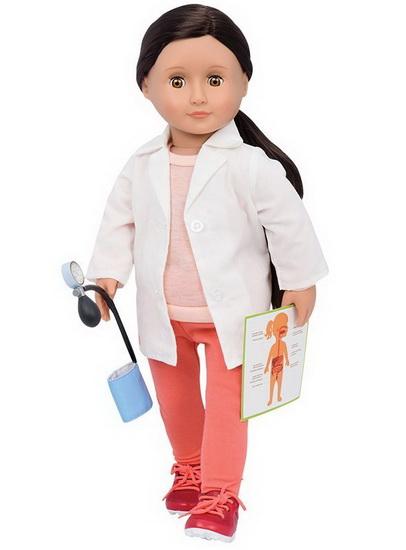 Poupée Nicole médecin