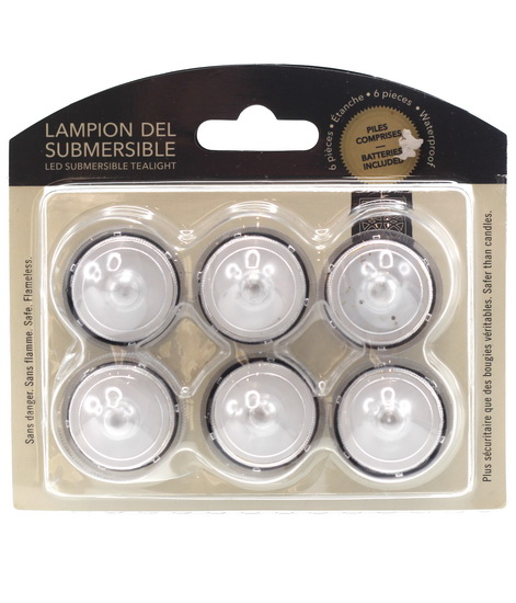 Lampions LED submersibles 6mcx