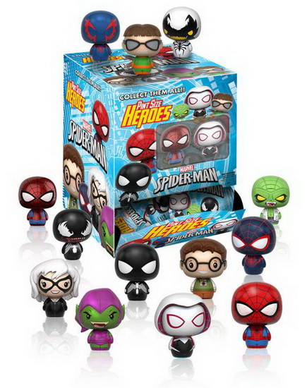 Mini figurines surprise Spiderman