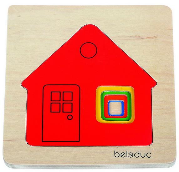 Puzzle Multicouches Petite maison
