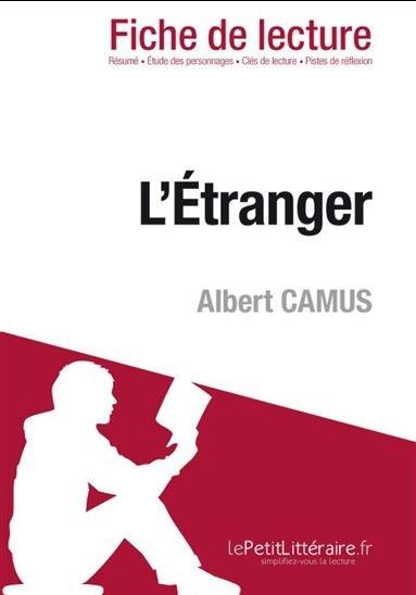 L\'Étranger de Albert Camus (Fiche de lecture) | Archambault