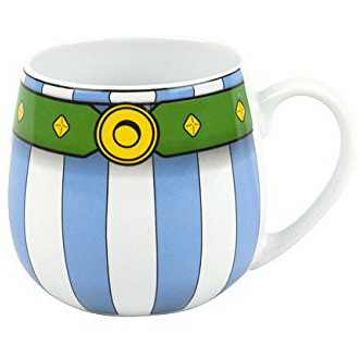 Mug porcelaine Astérix Ceinture d'Obélix