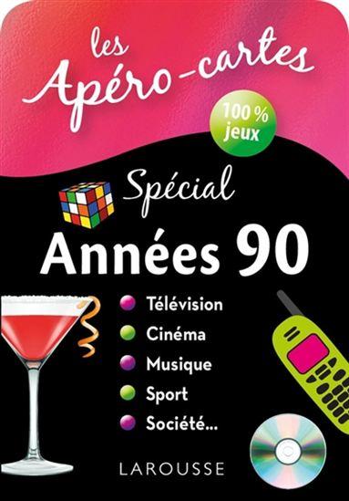 Apéros-cartes spécial années 90(Les)