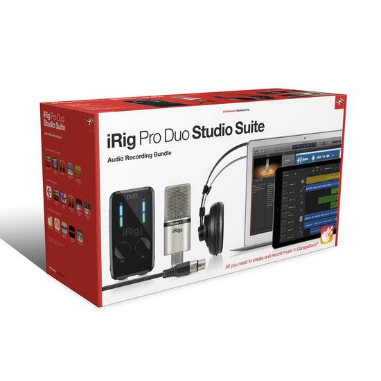 Ensemble iRig Pro Duo Studio Suite