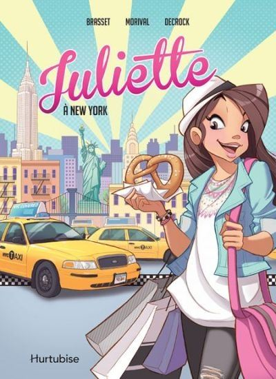 Juliette à New York : la BD