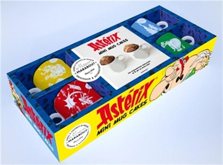 Astérix : mini mugcakes : des gourmandises moelleuses en 5 min au micro-ondes Cof.
