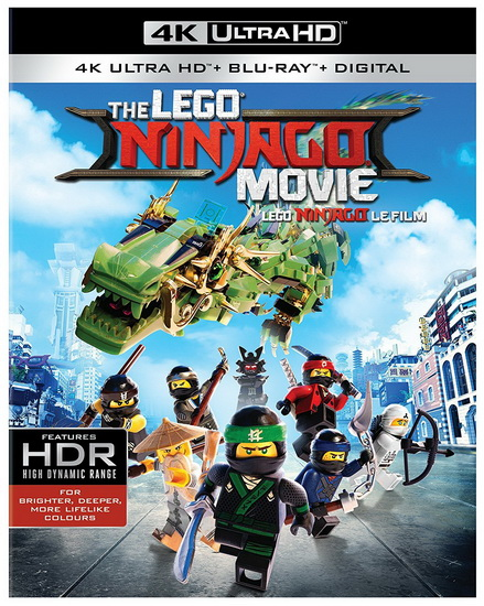 Lego : Ninjago Movie (+Bd+Uv)