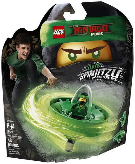 Lloyd - Maître du Spinjitzu