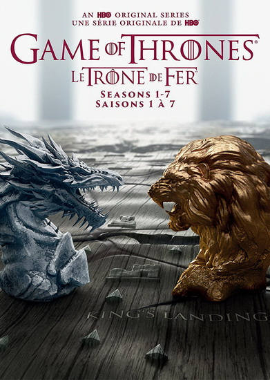 Game Of Thrones (Complete Seasons 1-7)(34Dvd) (Le Trône de Fer)