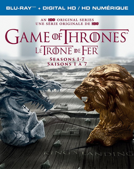 Game Of Thrones (Complete Seasons 1-7) (27Bd+Dgc) (Le Trône de Fer)