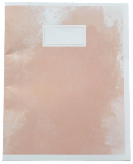Cahier de notes 3AS Emma Verde rose