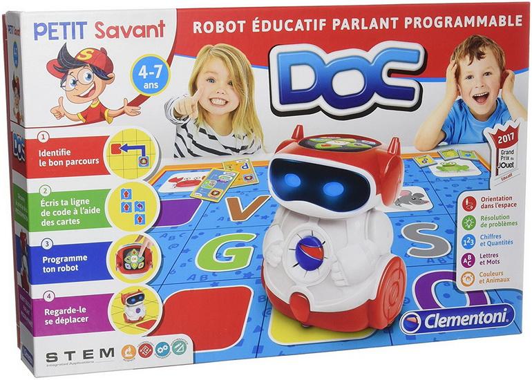 Doc Robot éducatif parlant programmable