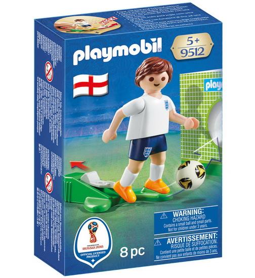 Joueur de soccer  Anglais