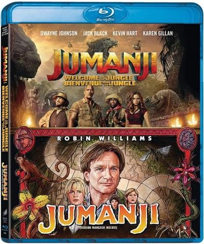 Jumanji (1995) (Sp Ed)/Jumanji Welcome To The Jungle (2Bd
