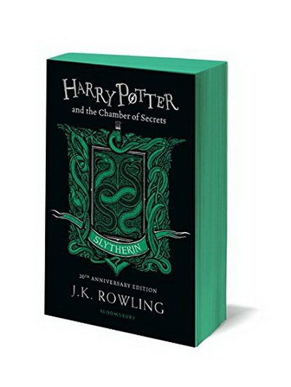 Harry Potter and the Chamber of Secrets : Slytherin : 20th Anniversary Edition