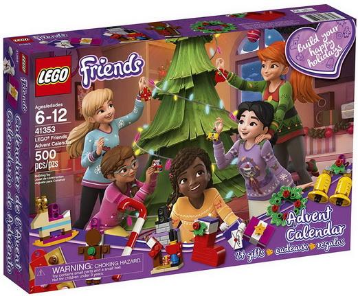 Le calendrier de l'Avent LEGOFriends