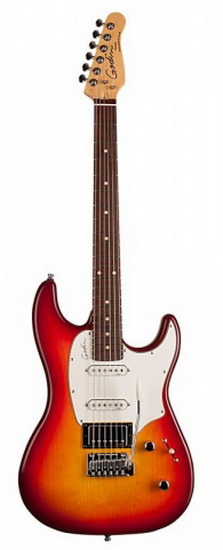 Guitare Électrique Session Cherry Burst MN