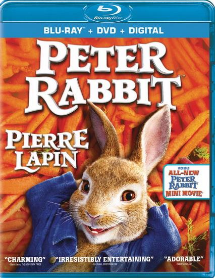 Peter Rabbit (Blu-Ray + Dvd)(Pierre Lapin)
