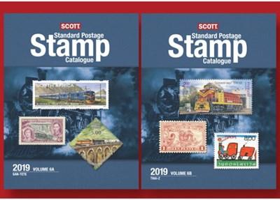 Scott 2019 Standard Postage Stamp Catalogue Volume 6a & 6b