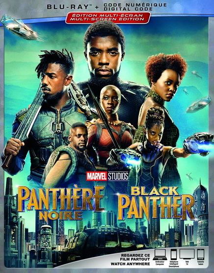 Black Panther (Blu-Ray)(Panthère Noire)