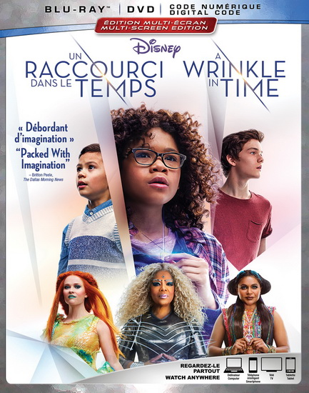Wrinkle In Time (A)(Blu-Ray+Dvd)(Un Raccourci Dans Le Temps)