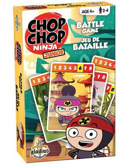 Jeu de bataille Chop Chop Ninja