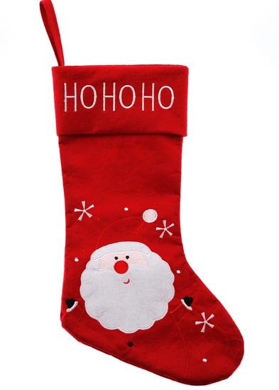Bas de Noël Ho Ho Ho