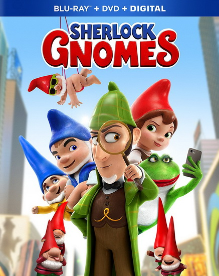 Sherlock Gnomes  (Blu-Ray+Dvd)