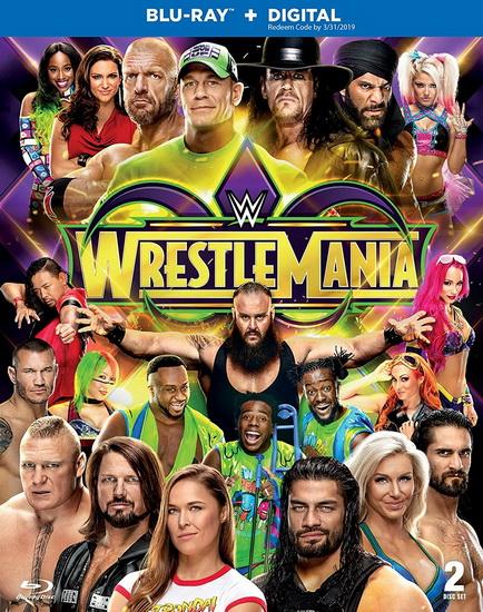 Wwe : Wrestlemania 34 (Blu-Ray)