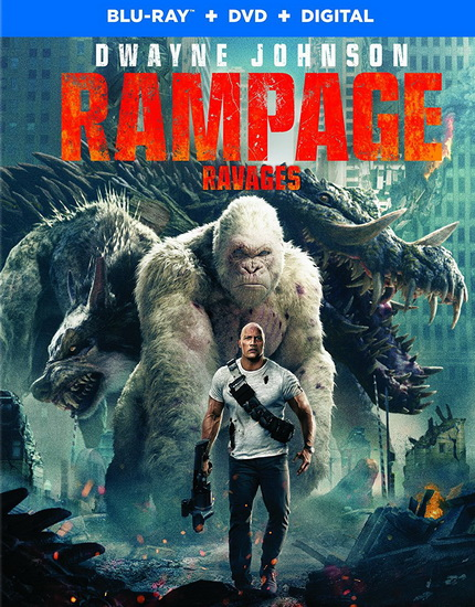 Rampage (Rampage : Hors De Contrôle)  (Blu-Ray+Dvd)