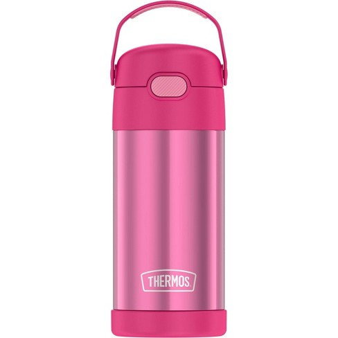 Bouteille Thermos rose acier inoxydable 355 ml