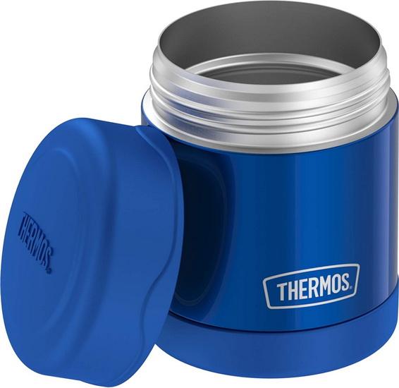 Contenant Thermos bleu acier inoxydable 290 ml
