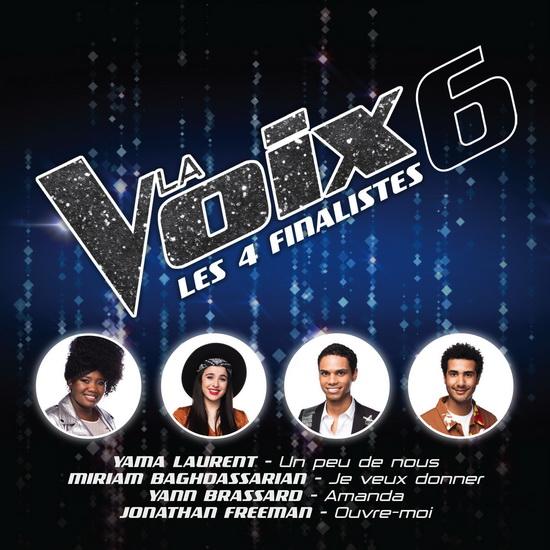 La Voix 6 - Les 4 finalistes