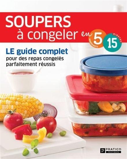 Souper à congeler en 5 ingrédients, 15 minutes
