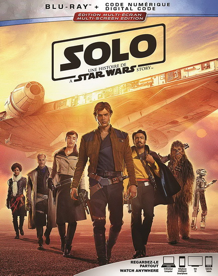 Solo : A Star Wars Story (Coll Ed) (Blu-Ray)