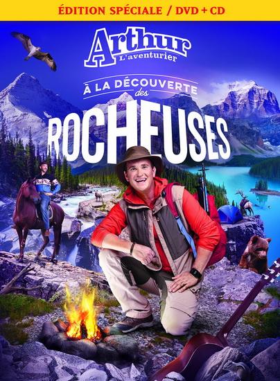 Arthur l'Aventurier à la découverte des Rocheuses (Dvd+CD)