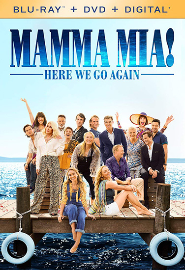 Mamma Mia! Here We Go Again (Blu-Ray+Dvd)