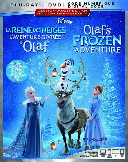 Olaf'S Frozen Adventure  (Blu-Ray+Dvd)