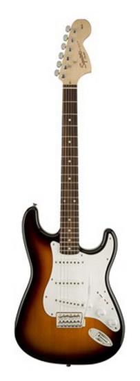 Guitare Électrique Affinity Brown Sunburst LF
