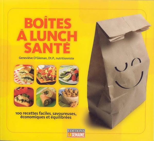 Boîtes à lunch santé
