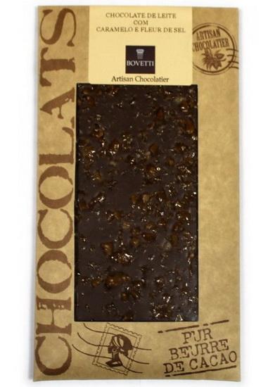 Chocolat lait Caramel fleur de sel 100gr
